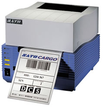 The CT Series by SATO features an ultra high-speed processor.