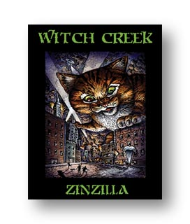 Witch Creek wine label is a digital label by Fernqvist Labeling Solutions.